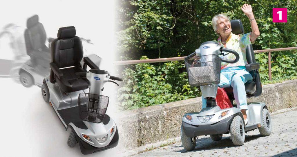 Elektromobil und Scooter