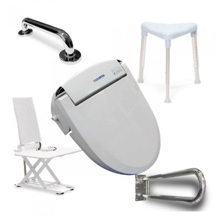 Hilfsmittel für Bad und Toilette